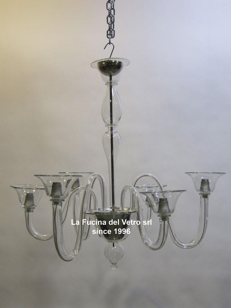 È possibile scegliere tra lampadari classici e lampadari moderni. Lampadario In Vetro Di Murano Moderno Alternato Vendita On Line