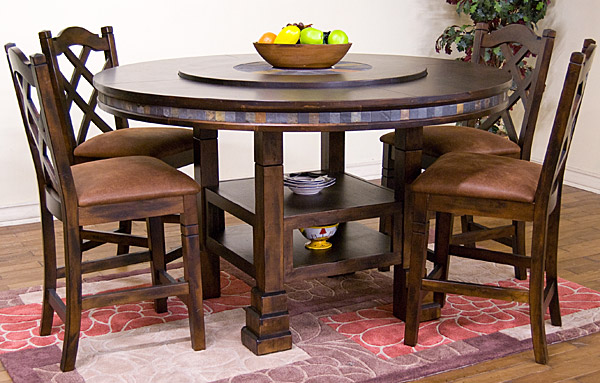 Santa Fe Collection Santa FeAdjustable Dining Table 1225DC