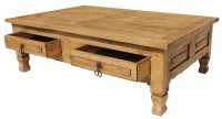 Rustic Pine Collection - Keko Coffee Table - CEN06