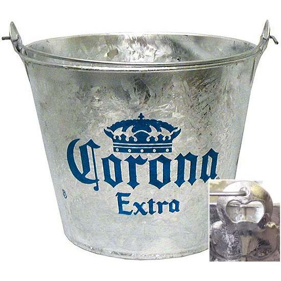Cantina Supplies  Corona ExtraMetal Beer Bucket  CAN040