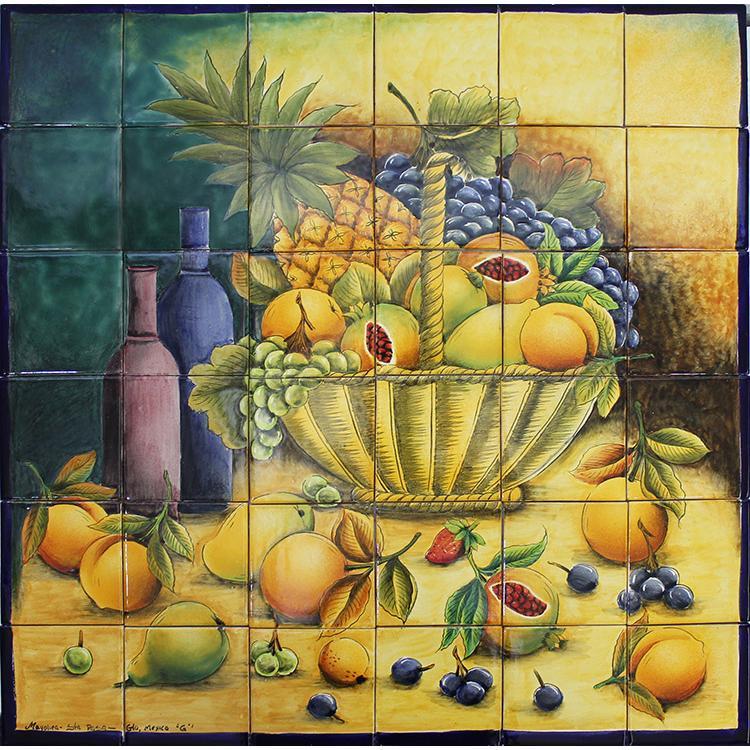 santa rosa majolica large fruit