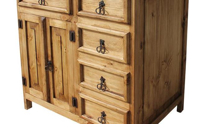 Rustic Pine Collection Dolores Sink Vanity Acc38