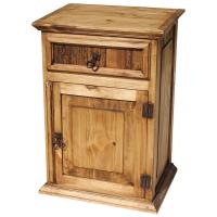 Rustic Pine Collection - Tall Paris Nightstand