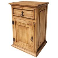 Rustic Pine Collection - Tall Liso Nightstand