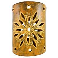Ceramica Cruz Blanca Collection - Clay Wall Sconce - CCBS004