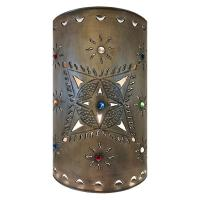Mexican Tin Lighting Collection - Toluca Wall Sconce - LAMW14