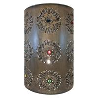 Mexican Tin Lighting Collection - Flores Wall Sconce - LAMW05