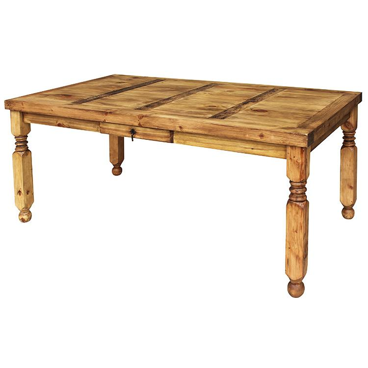 Rustic Pine Collection  Lyon Dining Table  MES24