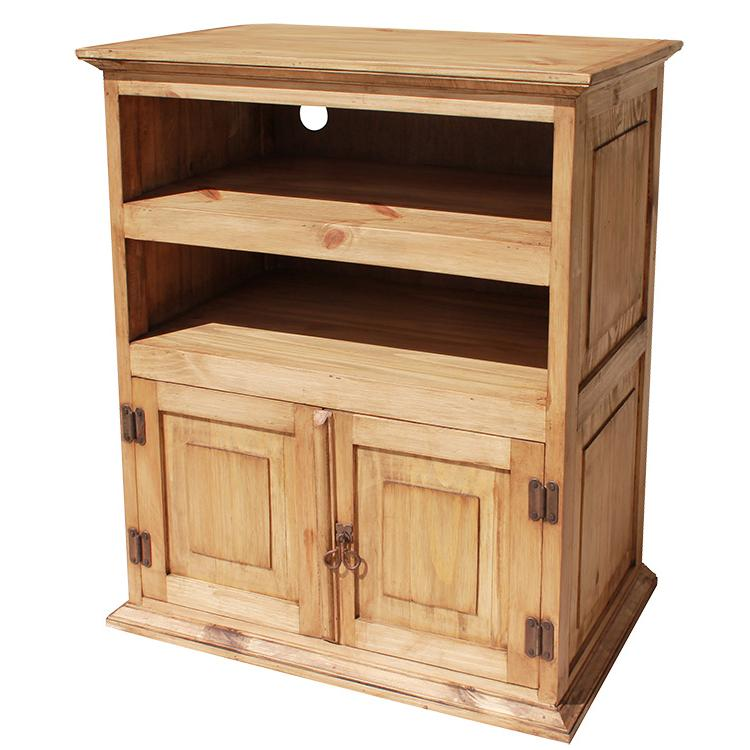 Rustic Pine Collection  Liso TV Stand  COM220