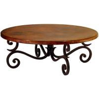 Copper Collection - Round Fountain Coffee Table - COF-88R
