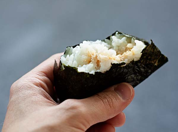 how to make japanese rice balls video