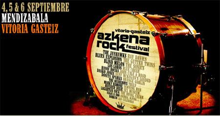 Azkena Rock Festival 2008, en Mendizabala (Vitoria Gasteiz) los días 4, 5 y 6 de septiembre
