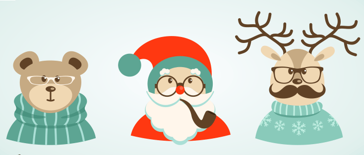 Cuida tus ojos de los excesos navideños