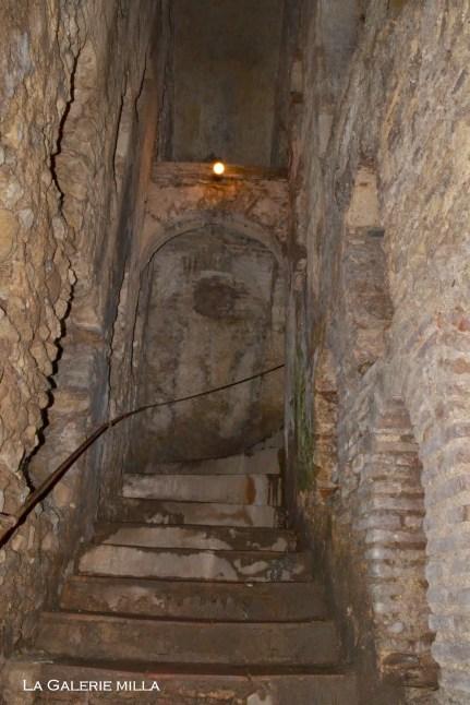 escaliers de la mina