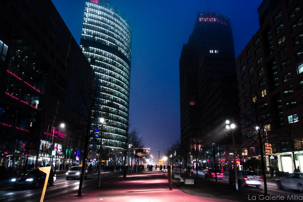 vue de Berlin de nuit