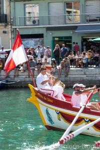 musiciens sur le bateau