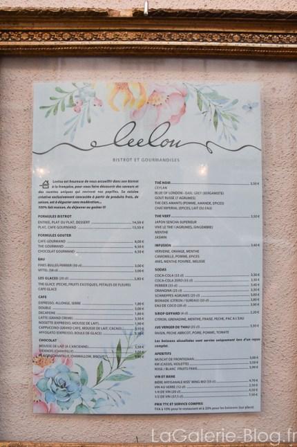 menu restaurant sete leelou