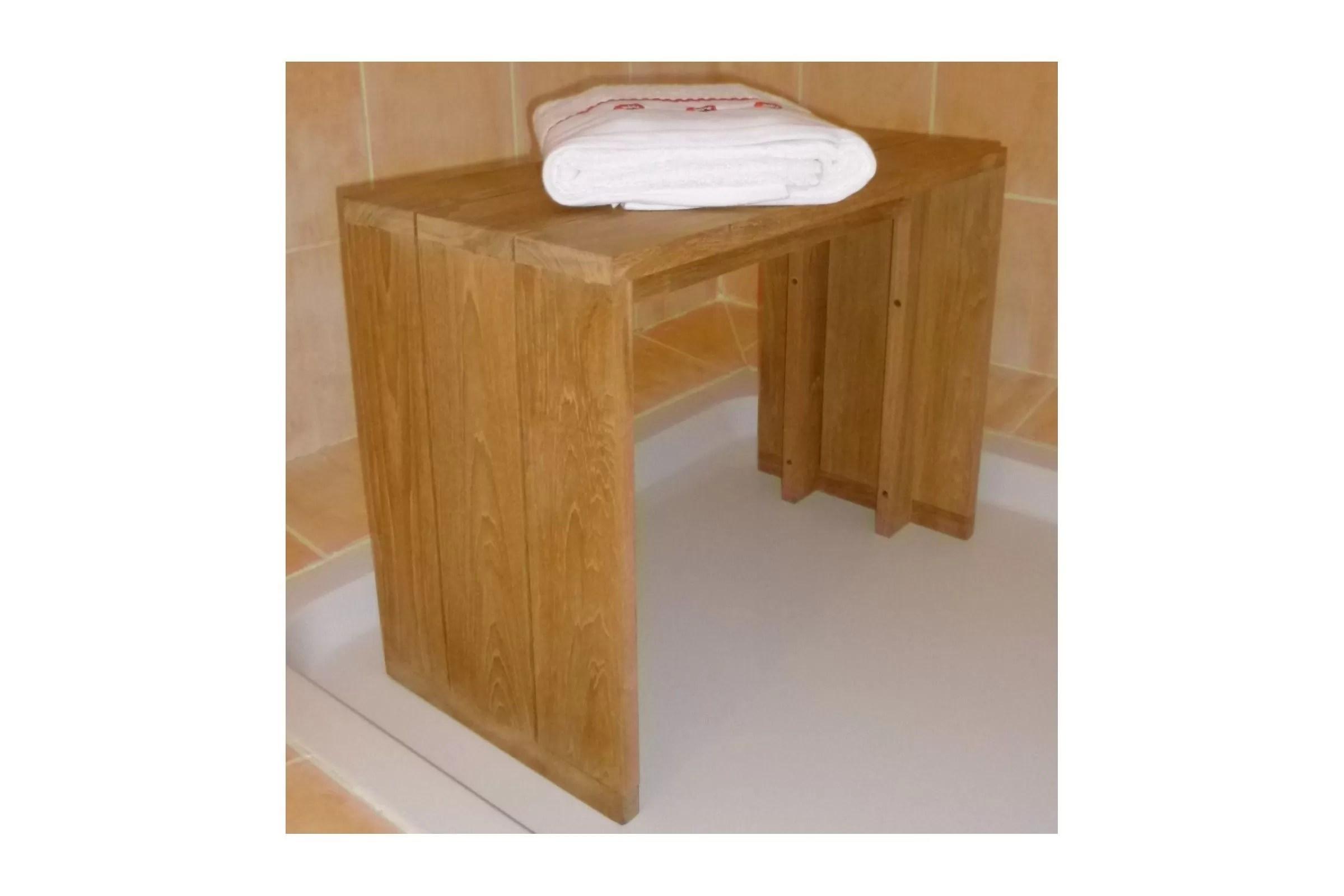 Petit banc salle de bain affordable spa lumineux et for Banc pour salle de bain
