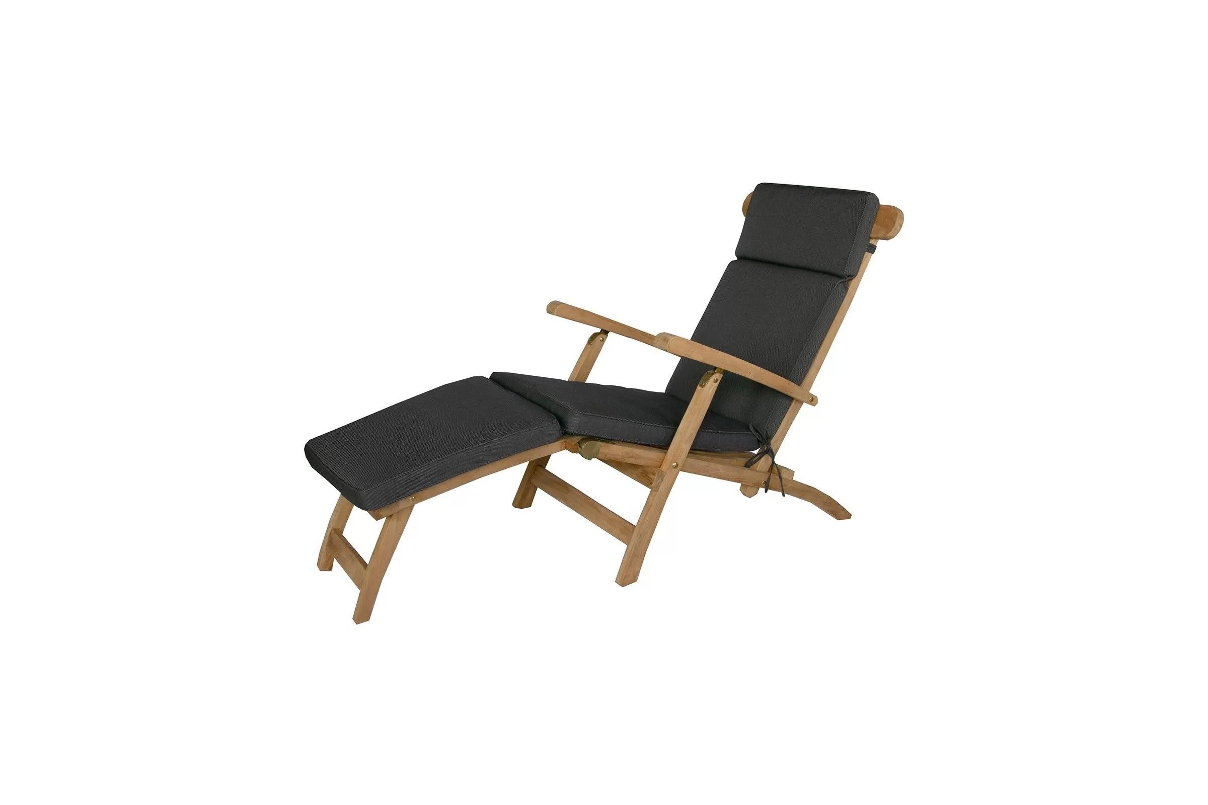 coussin de chaise longue type steamer dehoussable