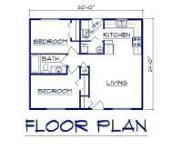 Garage Conversion ADU Floor Plan - Accessory Dwelling Unit ...