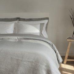 Reversible Sofa Kivik Teno Light Gray Cover Funda Nordica Lino Gris Lagarterana