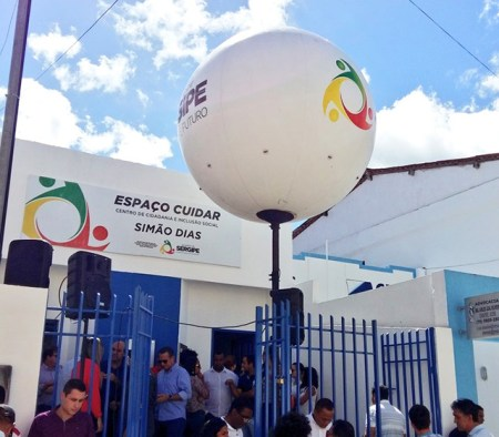 Espaço Cuidar inaugurado em Simão Dias