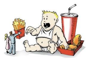 El problema de la obesidad infantil