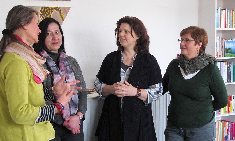 Besuch von Ute Vogt