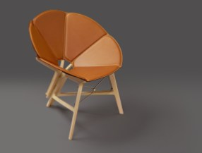 Le fauteuil Concertina de Raw Edges