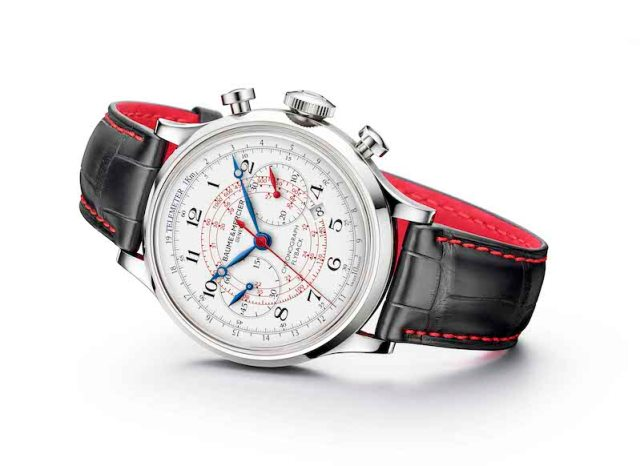 Capeland Flyback Passione Engadina by Baume et Mercier