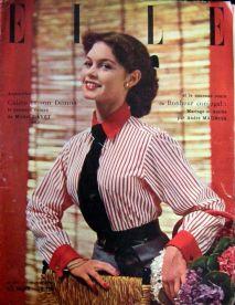 Elle Magazine 1951 - Brigitte Bardot