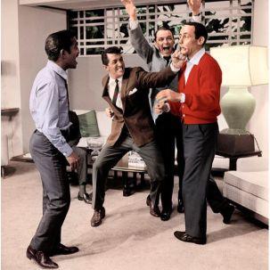 """The Rat Pack lors du """"Dean martin show"""""""