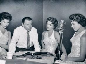 Franck Sinatra et les McGUIRE Sisters