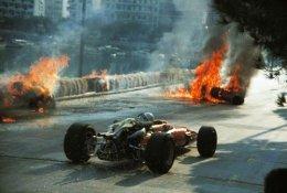 Accident de Lorenzo Bandini - 1967