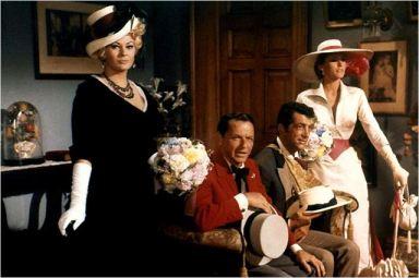 """""""Les Quatre du Texas"""" avec Ursula Andress, dean Martin, Franck Sinatra et Anita Ekberg"""