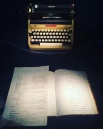 Machine à écrire Ian Fleming