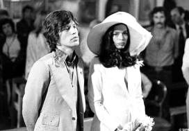 Mariage de Mick et Bianca Jagger à Saint Tropez