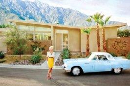 Ford Thunderbird de 1956 avec ses fameux hublots