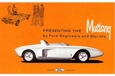 Concept Ford Mustang I de 1962