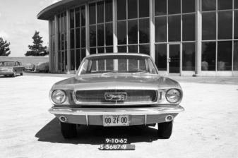 La Ford Mustang devait s'appeler Ford Cougar en témoigne ce logo