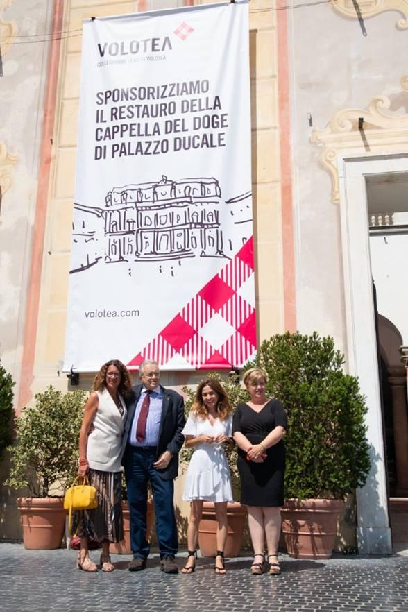 Volotea restauro cappella cappella dogale Genova 1