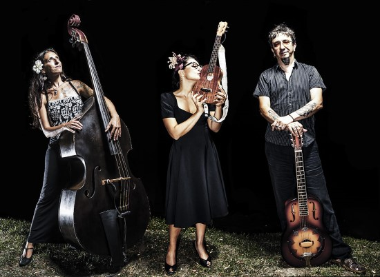 Veronica e The Red Wine Serenaders al Trasimeno Blues