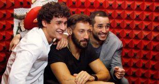 Antonio, Diego, Thiago GF14