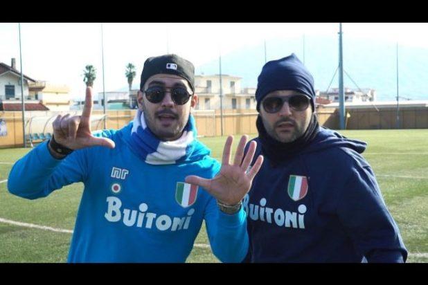 Jamme frà ramm 'o Bigliètt parodia Napoli Real Madrid