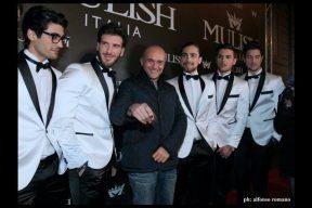Alfonso Signorini al Party Mulish