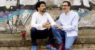 South Designer, Antonio Fresa e Fabrizio Fiore. Foto Ufficio Stampa.
