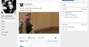 Aurora Ruffino allenamento a Cavallo. Frame dalla Fanpage Ufficiale