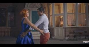 Noemi e Massimiliano Varrese nel video Autunno.