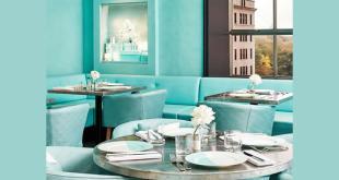Colazione da Tiffany, ecco gli interni del Tiffany at The Blue Box Cafe. Foto da Facebook.