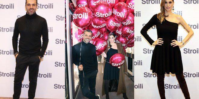 Satta e Argentero per l'opening di Stroili